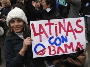 latinas con obama