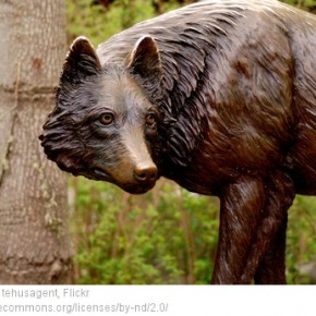 stone wolf