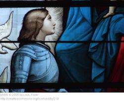 Joan of Arc Window