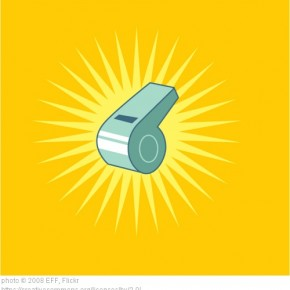 yellow whistle
